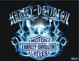 harley davidson tribal bleu harley