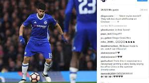 Diego Costa responds to rumours of Chelsea move on Instagram - AS.com