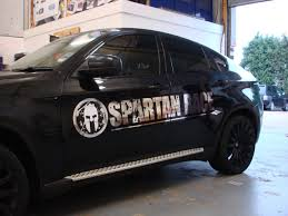 Spartan Race Bmw X6 Chrome Graphics And Textured Interior Ambient Graphics