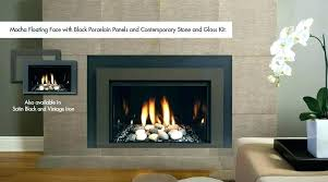 direct vent modern fireplace