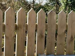 5 Pack 4ft High Pointed Top Pickets 6 Wide Garden Fence Picket Panels Pales Ebay Garden Fence Fence Pickets Garden In The Woods