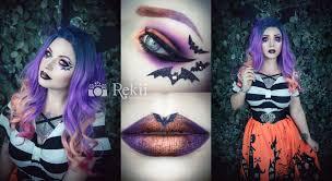tutorial crazy bat make up rekii