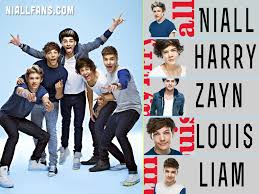 seven one direction wallpaper