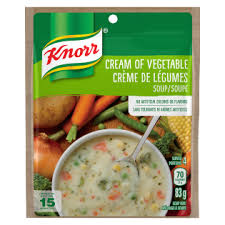 cream of vegetable soup knorr