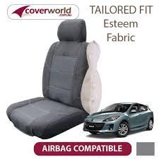 car seat covers mazda 3 hatch bl series