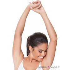 laser hair removal arms hands