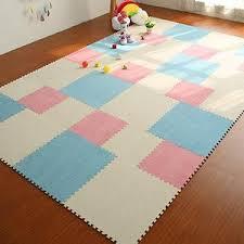 Diy Colorful Puzzle Carpet Kids Room Floor Mat Eva Foam Doormat Carpet Aty Home Decor