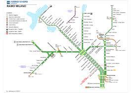 Mappa ramo Milano - FerrovieNord