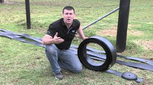 05 Roll Out The Flexible Horse Fence Rail The Day Before Youtube