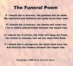 the funeral poem shifting vibration