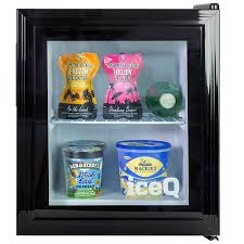 iceq 36 litre counter top glass door