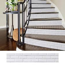 Diy Removable Stickers For Stairs Stairway Stickers Self Adhesive Ceramic Tiles Pvc Wallpaper Vinyl Decal Home Decoration Wall Stickers Aliexpress