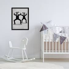 East Urban Home Zebra Vogueing Kids Wall Decor Wayfair