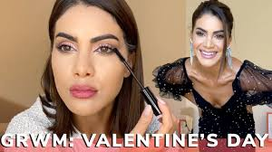 grwm valentine s day makeup you