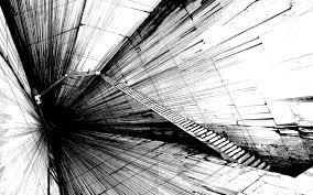 black and white hd wallpaper