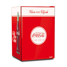 coca cola solid door undercounter bar