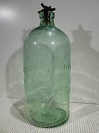 vntg buffalo lithia water bottle w root