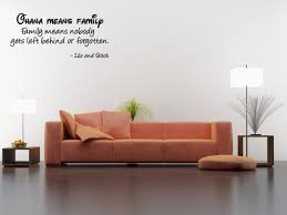 Ohana Means Family Family Means Nobody Gets Left Behind Or Forgotten Wall Quote Wall Decals Wall Decal Wall Sticker J496 Walmart Com Walmart Com