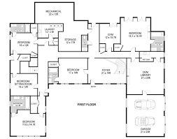 energy saving u shaped modern house plans