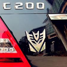 Aluminum 3d Black Car Badge Sticker Bike Emblem For Transformers Decepticon 19 Archives Statelegals Staradvertiser Com
