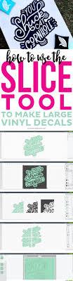 Vinyl Decals Create Large Decals In Cricut Design Space