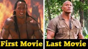 Dwayne Johnson/The Rock - All Movies (2001- 2017) - YouTube