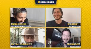 Marwan Kenzari, Matthias Schoenaerts, and Luca Marinelli Talk Netflix's The Old  Guard