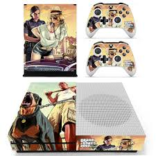 Grand Theft Auto V Gta 5 Skin Sticker For Microsoft Xbox One S Console And 2 Controllers For Xbox One S Skin Sticker Vinyl