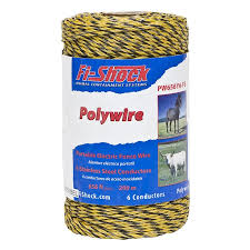 Fi Shock 656 Ft Electric Fence Poly Wire In The Electric Fence Wire Tape Department At Lowes Com