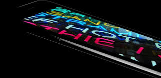 neon sign wallpaper from iphone 7