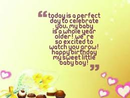 awesome birthday quotes for baby boy greetings nice wishes