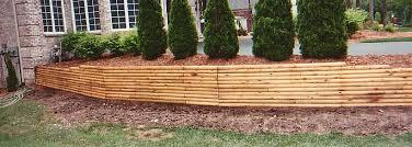 wood beams retaining wall wood beams