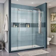 clean and maintain glass shower doors