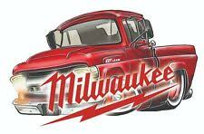 Milwaukee Sticker In Collectible Vehicle Decals Stickers For Sale Ebay