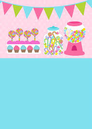 Cute Sweet Treats Birthday Party Invitation Zazzle Com