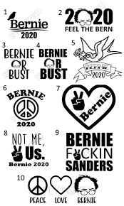 Bernie Sanders Decal Sticker Bernie Car Decals Bernie Etsy