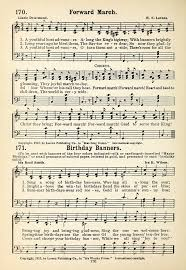 His Worthy Praise 171. Sing a song of birthday banners | Hymnary.org
