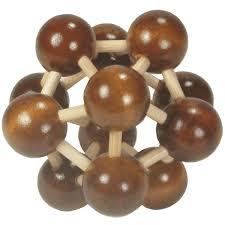 wood puzzle molecule mr puzzle