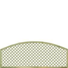Dome Top Diamond Trellis Topper Diamond Trellis Grangewood Fencing