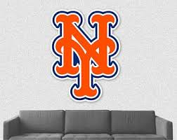 New York Mets Decal Etsy