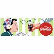 Coca Cola Good Soda Fountain Couple 1950s Wall Decal Restaurant Kitchen Decor 7 99 Picclick