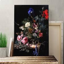 still life flowers by willem van aelst