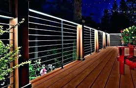 Inspiring Solar Railing Lights Lighting Fascinating Porch Fence Post Deck Led Fusion Aluminum String For Reactor Outdoor Powered Cap Home Depot Simplest Enchanting Flush Mount Charming Rattraper