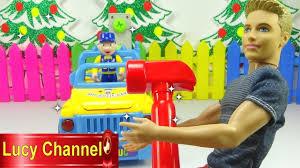 Đồ chơi Lucy Búp bê Barbie Ken review xe tải Car Toy for kids ...