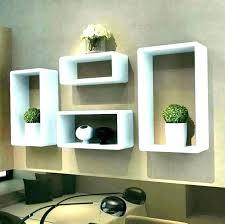 floating shelf decorating ideas living