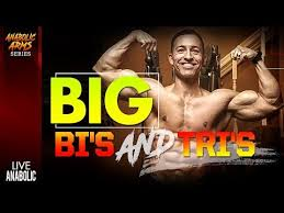 best biceps and triceps workout at gym