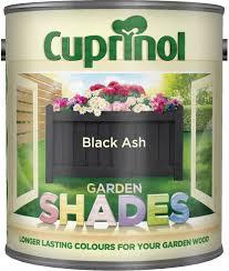 Cuprinol Garden Shades Black Ash 1 Litre Amazon Co Uk Diy Tools