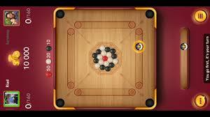 carrom board game break to the