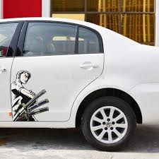 2pcs Zoro Car Side Sticker Decals Price 14 00 Free Shipping Onepiecelover Onepieceatatime Dluffystore