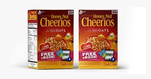 honey nut cheerios png